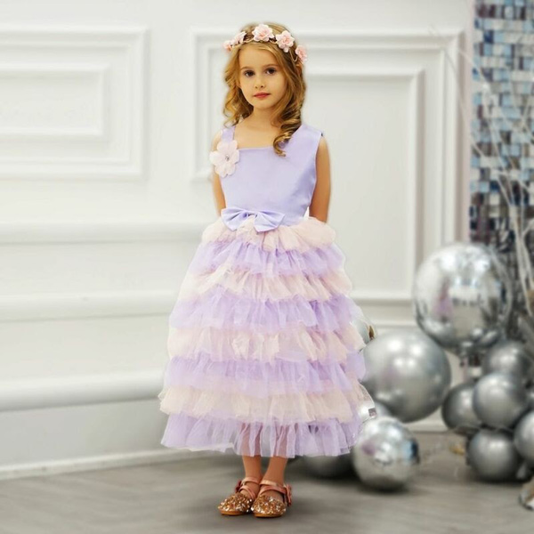 Petra dress in lavender